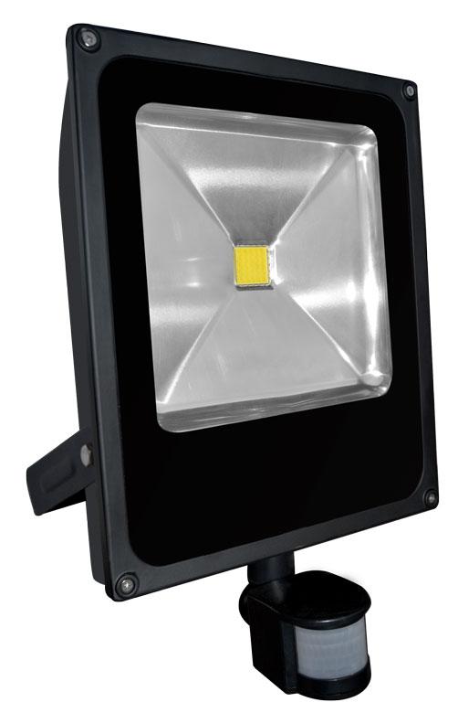 LED reflektor s čidlem pohybu DAISY PIR MCOB 50W - Greenlux (GXDS107)