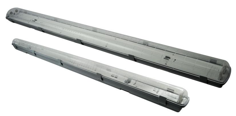 Prachotěsné svítidlo DUST LED PS pro LED trubice 2xT8 - 120cm - Greenlux (GXWP210)