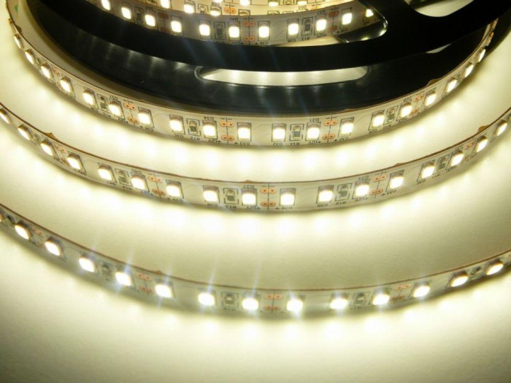 LED pásek SMD 2835 CRI>90 - 20W, NW, 2070lm, 12V, IP20, 120xLED - Neutrální bílá - T-LED (07505)