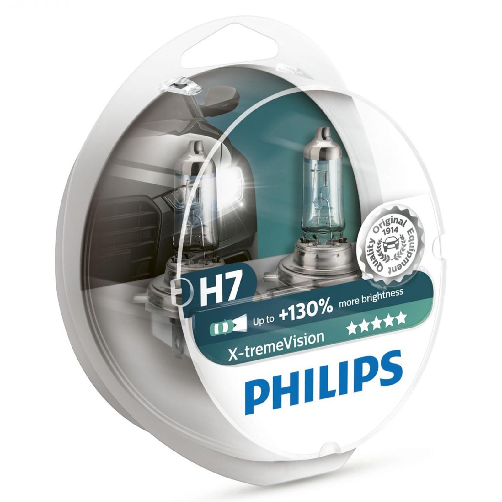 Philips X-treme Vision 12972XV+S2 H7 PX26d 12V 55W