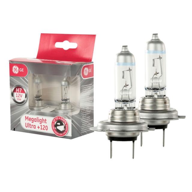 H7 Megalight Ultra +120% (2 ks) - GE Lighting (98282;98264)
