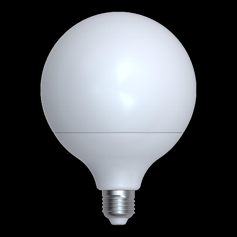 LED žárovka globe 18W E27 6400K CW SKYLIGHTING (G125-2718F)