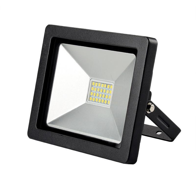 Solight LED venkovní reflektor SLIM, 20W, 1400lm, 3000K, černá