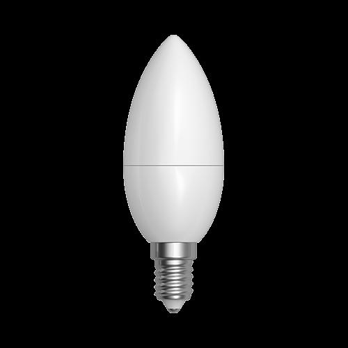 LED žárovka svíčka 5W E14 4200K NW SKYLIGHTING (C37CPA-1405D)