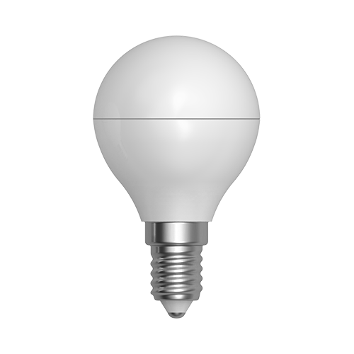 LED žárovka miniglobe 5W E14 6400K CW SKYLIGHTING (G45PA-1405F)