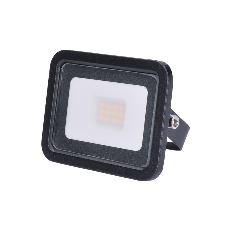 LED venkovní reflektor Eco - 10W, 650lm, 4000K, černý - Solight (WM-10W-K)