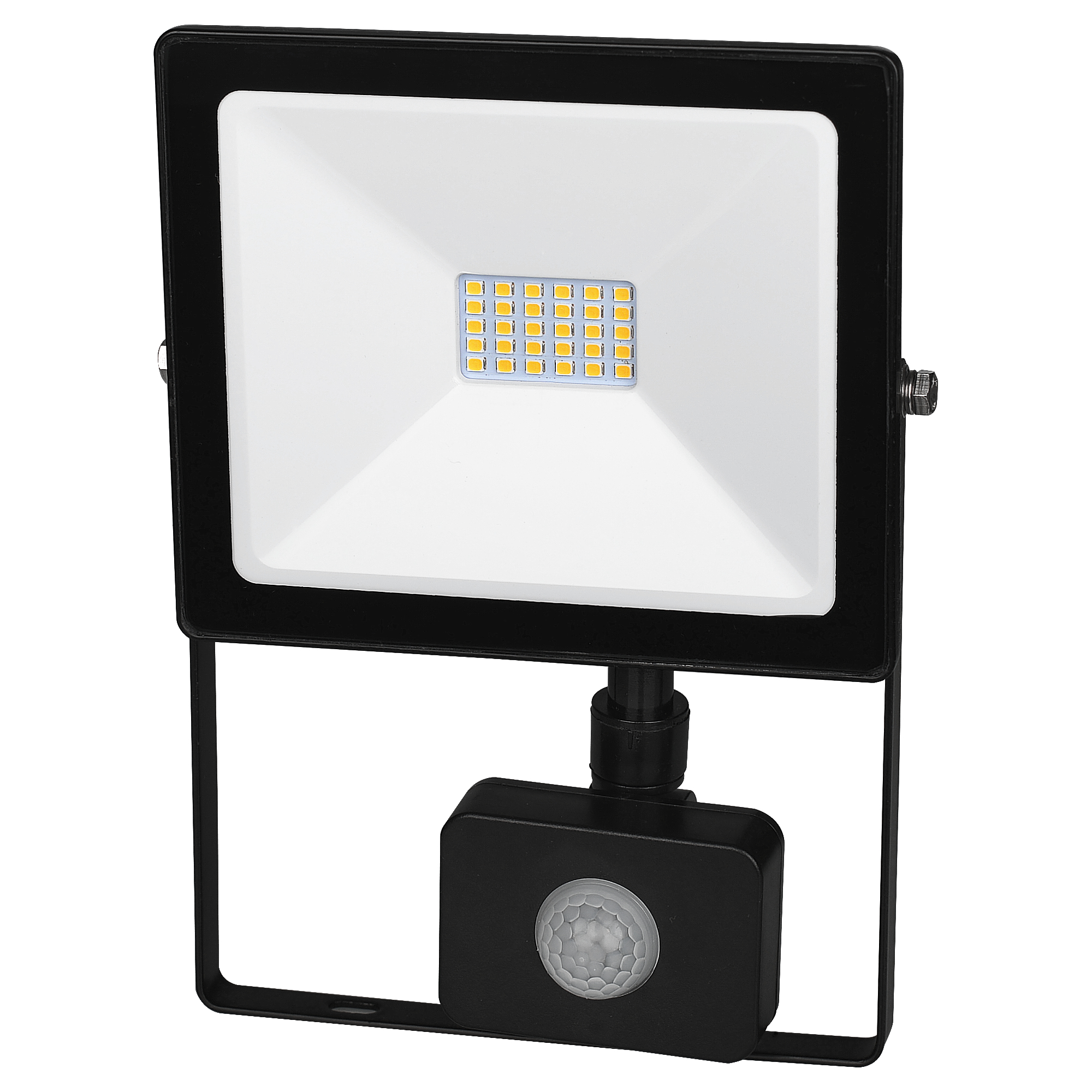 LED reflektor s čidlem pohybu DAISY LED PIR SMD 20W studená bílá - Greenlux (GXDS117)
