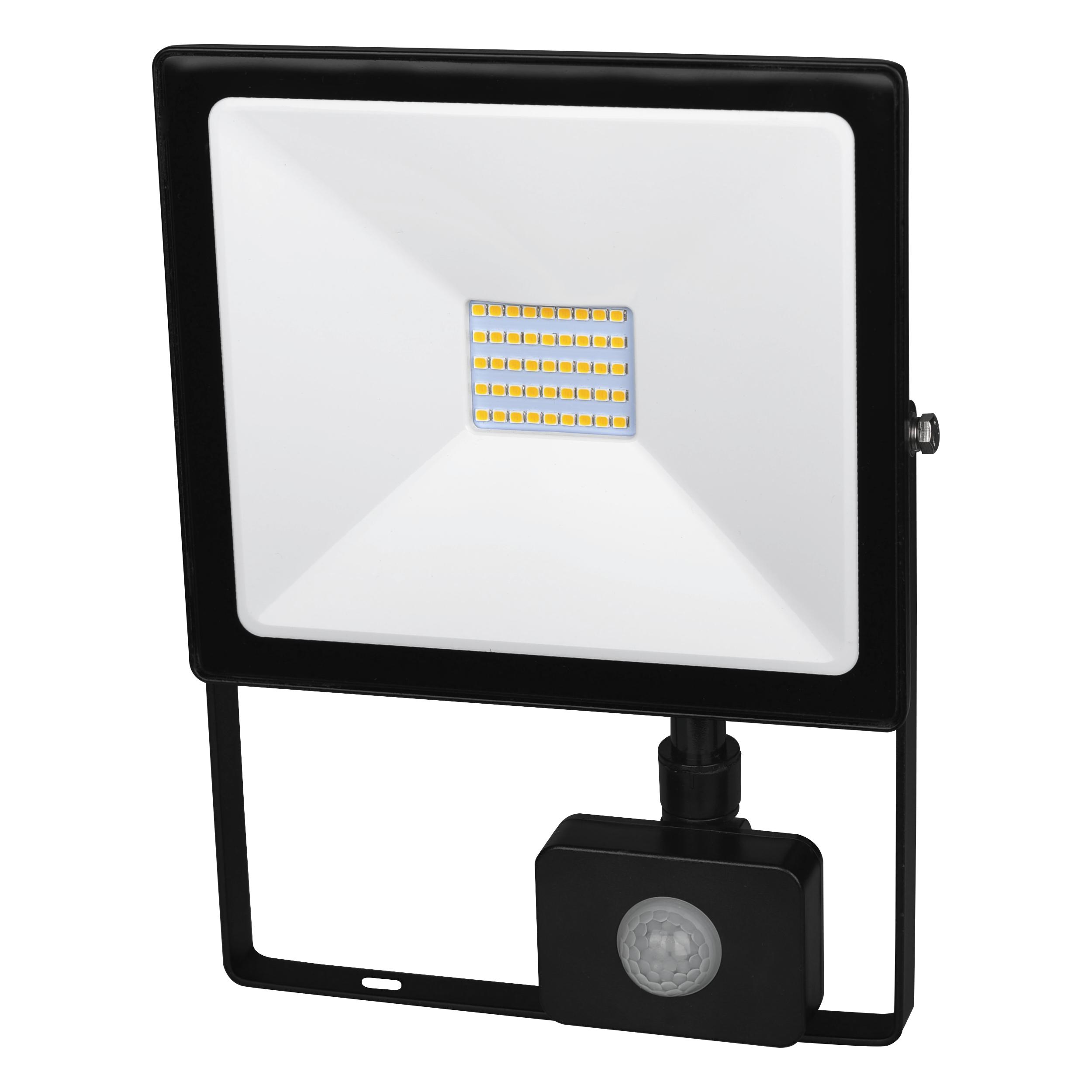 LED reflektor s čidlem pohybu DAISY LED PIR SMD 50W studená bílá - Greenlux (GXDS119)