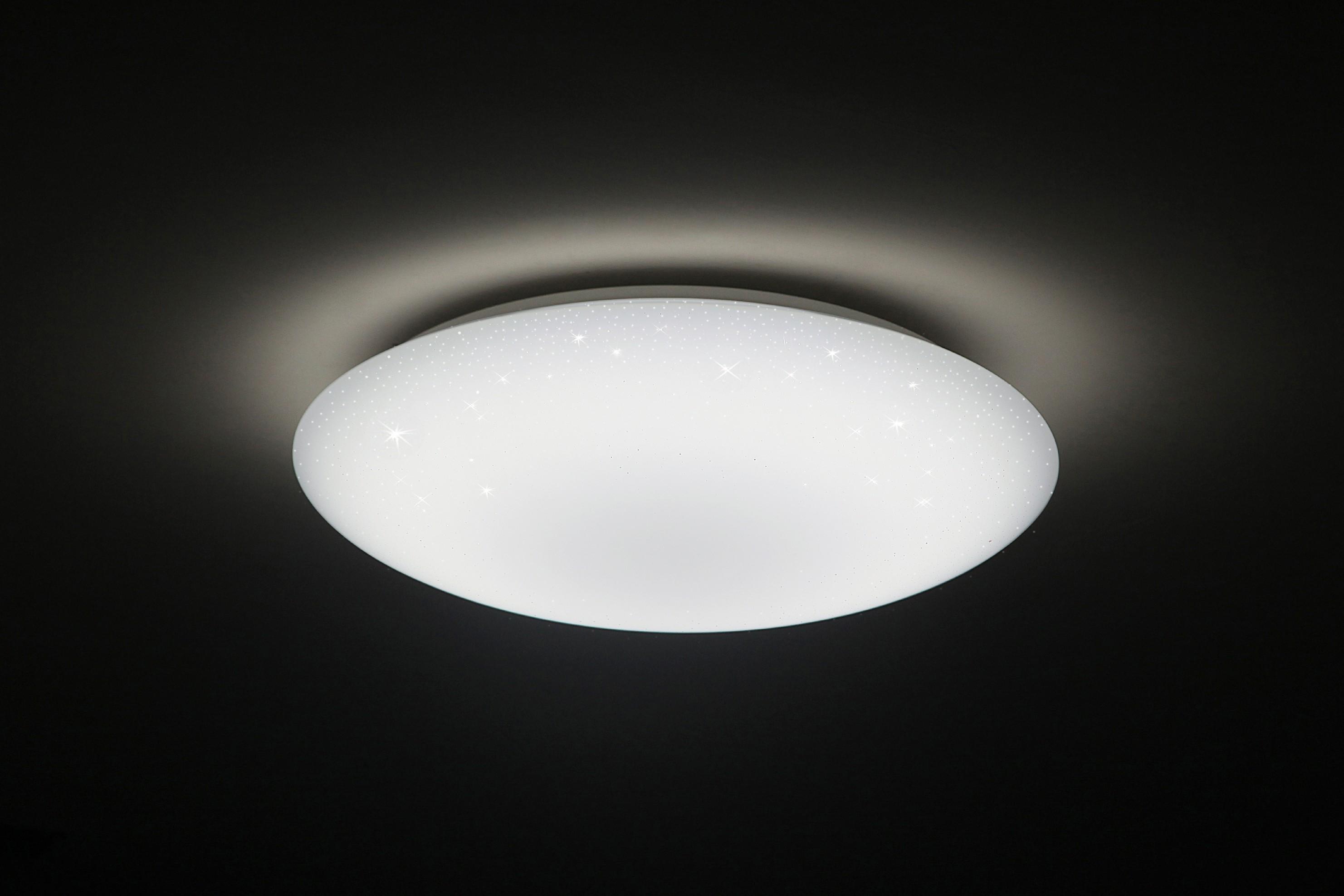 Inteligentní ECO LED svítidlo - Dalen DL-C415TXW WiFi - Hvězdné nebe + LED lampička Solight s klipem (různé barvy)