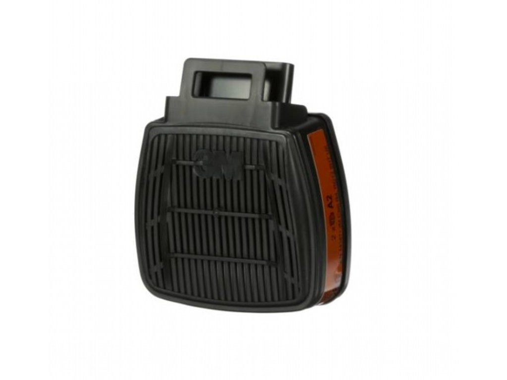 D8055, 3M™ Secure Click™ Filtr A2 - organické výpary s bodem varu nad 65°C