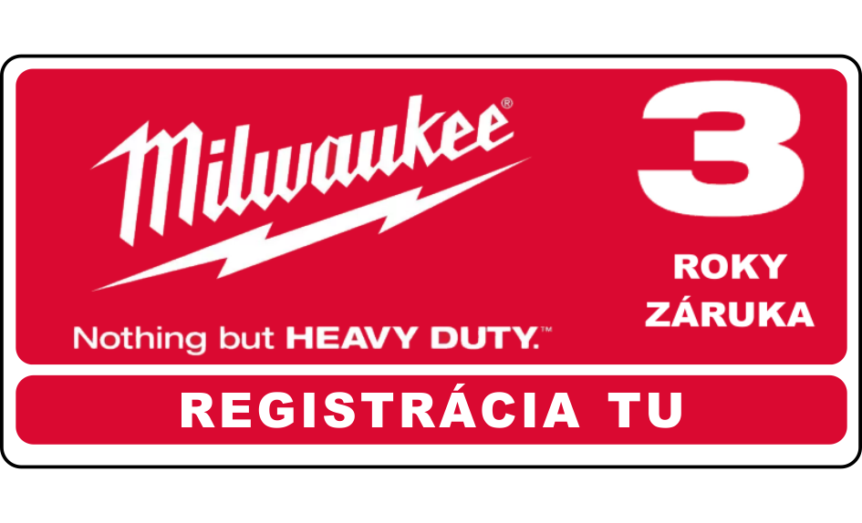 milwaukee 3 rocna zaruka