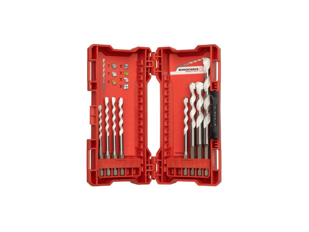 milwaukee 8pc multi material drill bit set1