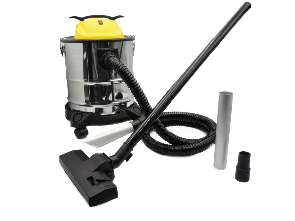 GEKO Vysávač popola s oklepávačom filtra, 1600 W, 20L