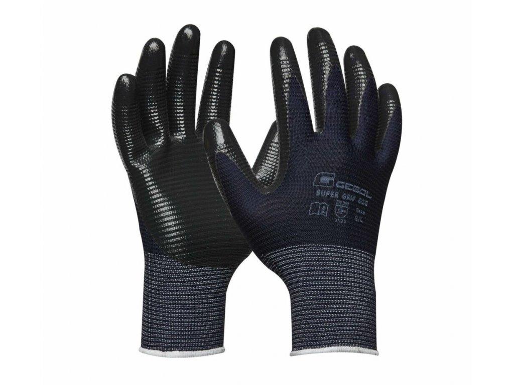Pracovné rukavice GEBOL Super Grip Eco