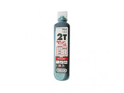 oregon olej pro 2t motory 100 ml zeleny o10 6361
