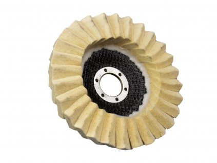 GEKO Leštiaci kotúč lamelový filcový 125 x 22 mm