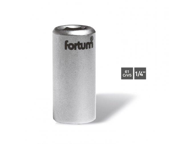 FORTUM Adaptér vnútorný z 1/4'' 6-hran na 1/4''