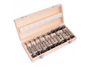 frezy otwornice sekowniki 16cz walizka drewniana (4)