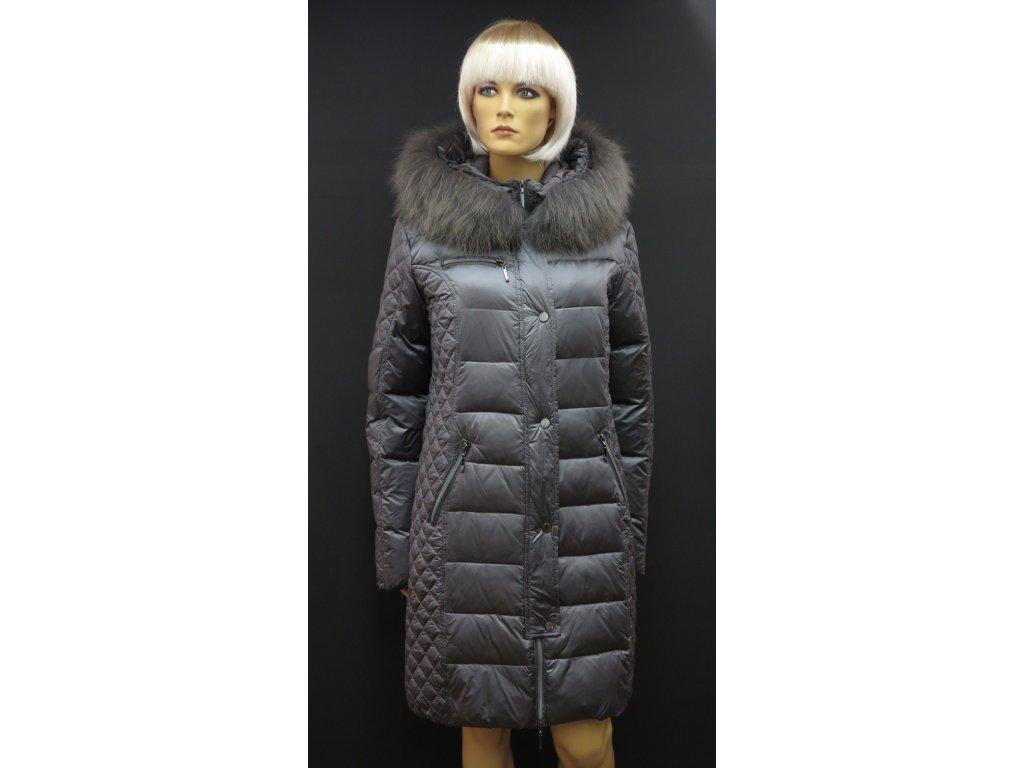 Dámské zimní bundy s pravou kožešinou a kapucí