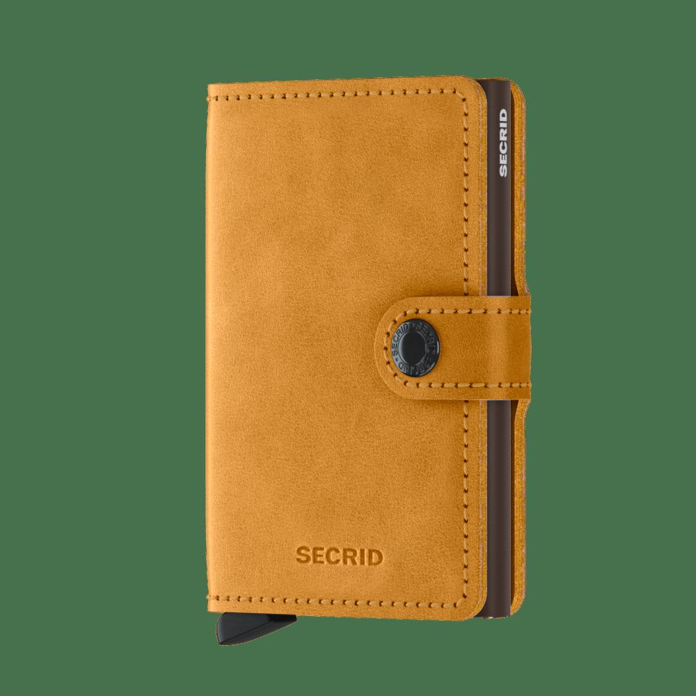 Kožené peněženky SECRID s hliníkovým pouzdrem