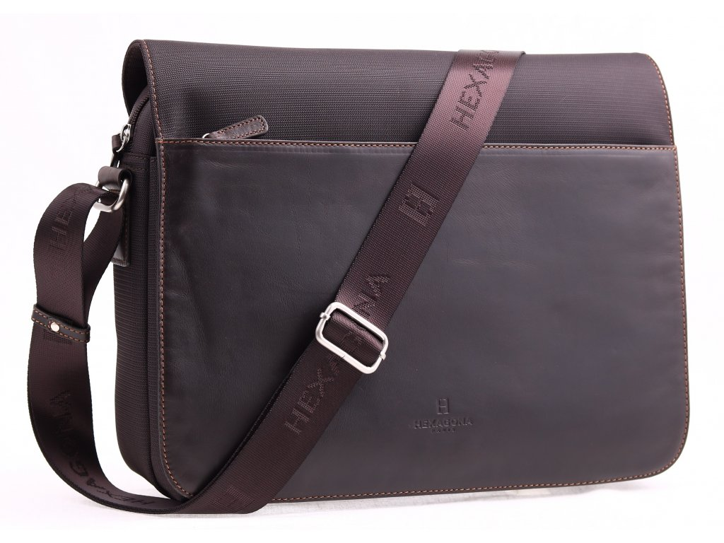 Pánské kožené tašky přes rameno