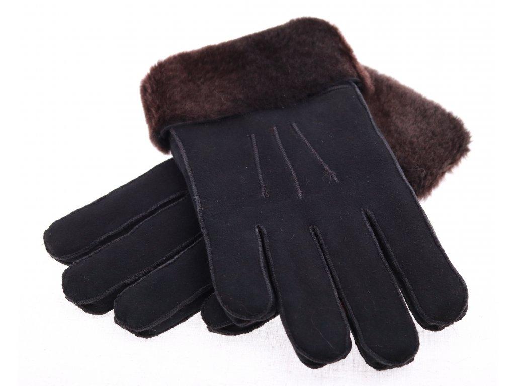 Kožešinové rukavice - prstové