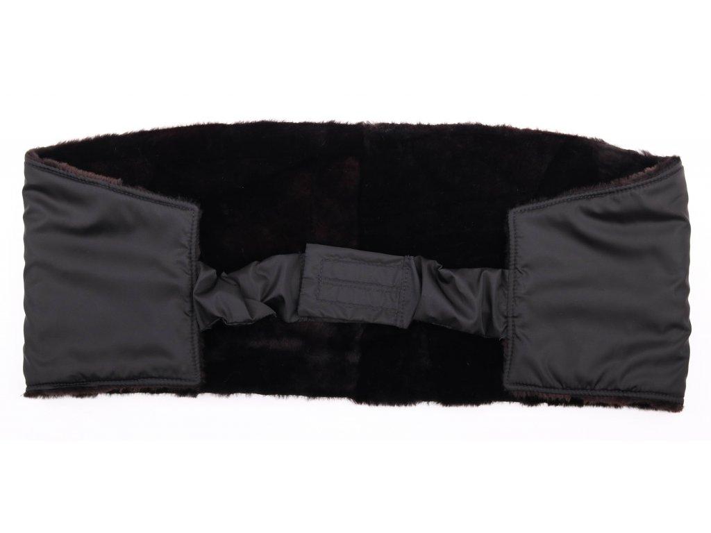 Ledvinový pás kožešinový z ovčiny LP 132 velikost  120 - 140 cm