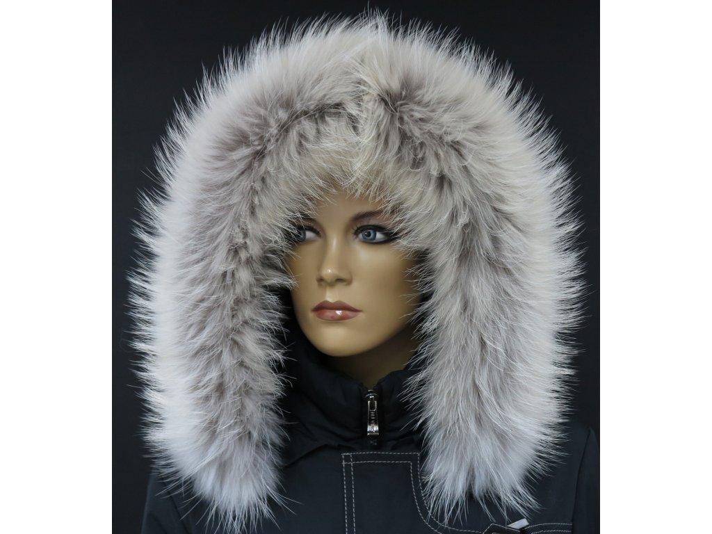 Kožešinový lem   límec na kapuci z finského mývalovce 4077 ARKTIK ... e4843ef698