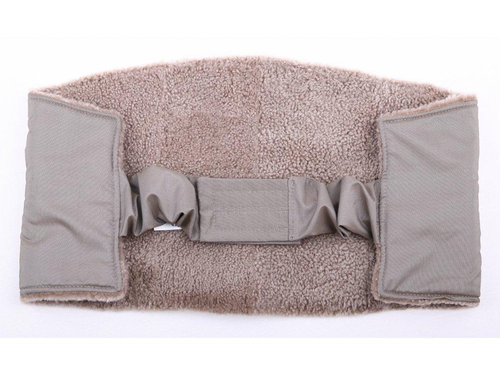 Ledvinový pás kožešinový z ovčiny velikost  80 - 100 cm LP148