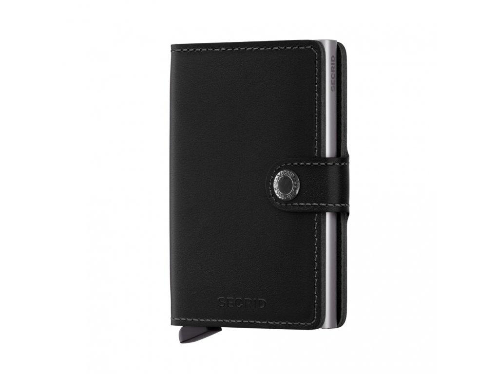 Kožená peněženka SECRID Miniwallet Original Black černá