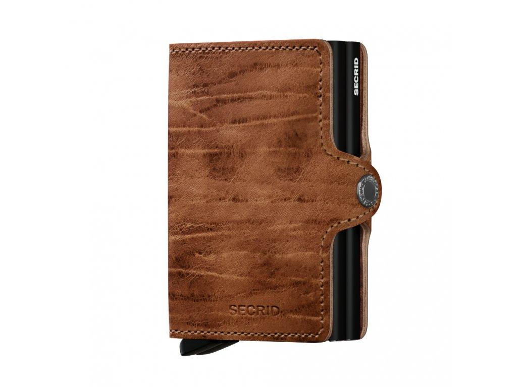 Kožená peněženka SECRID Twinwallet Dutch Martin Whiskey