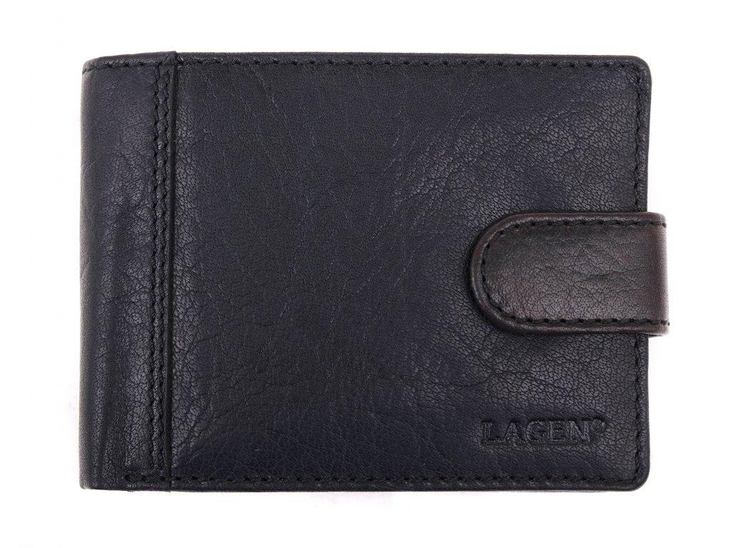 Pánská kožená peněženka Lagen LN 8575 A černá