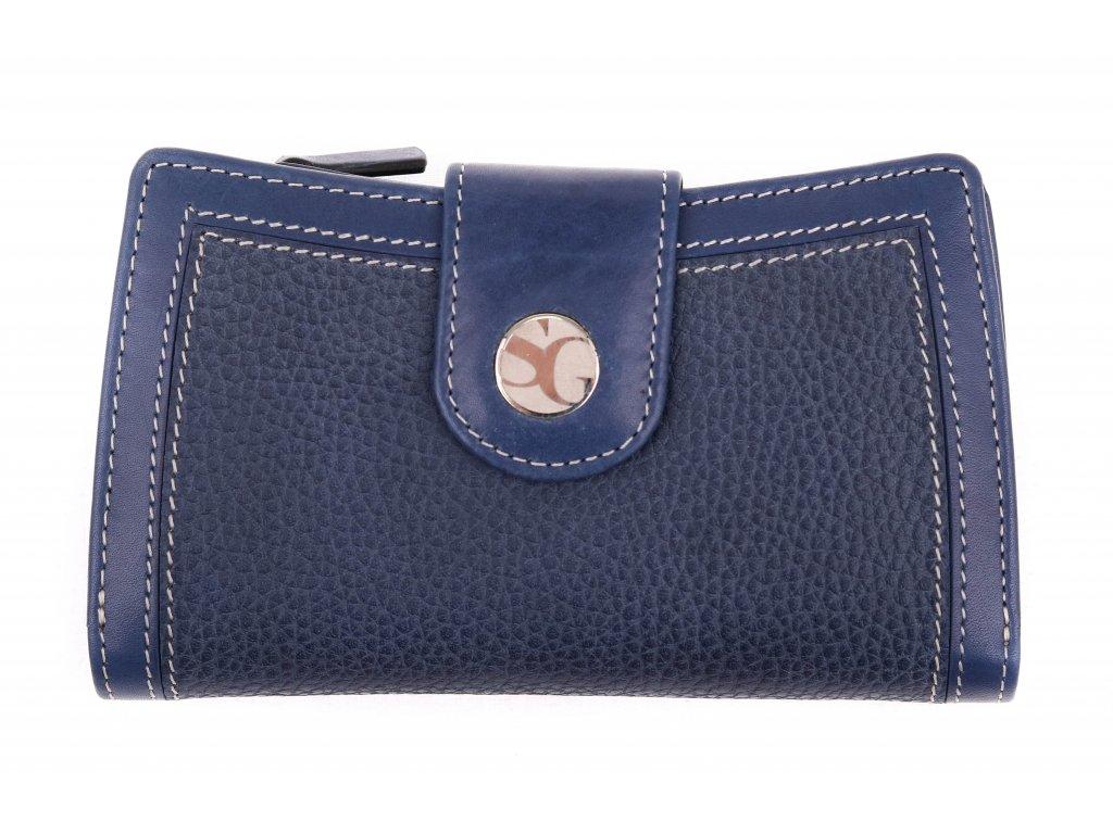 Dámská kožená peněženka Segali SG 7053 modrá