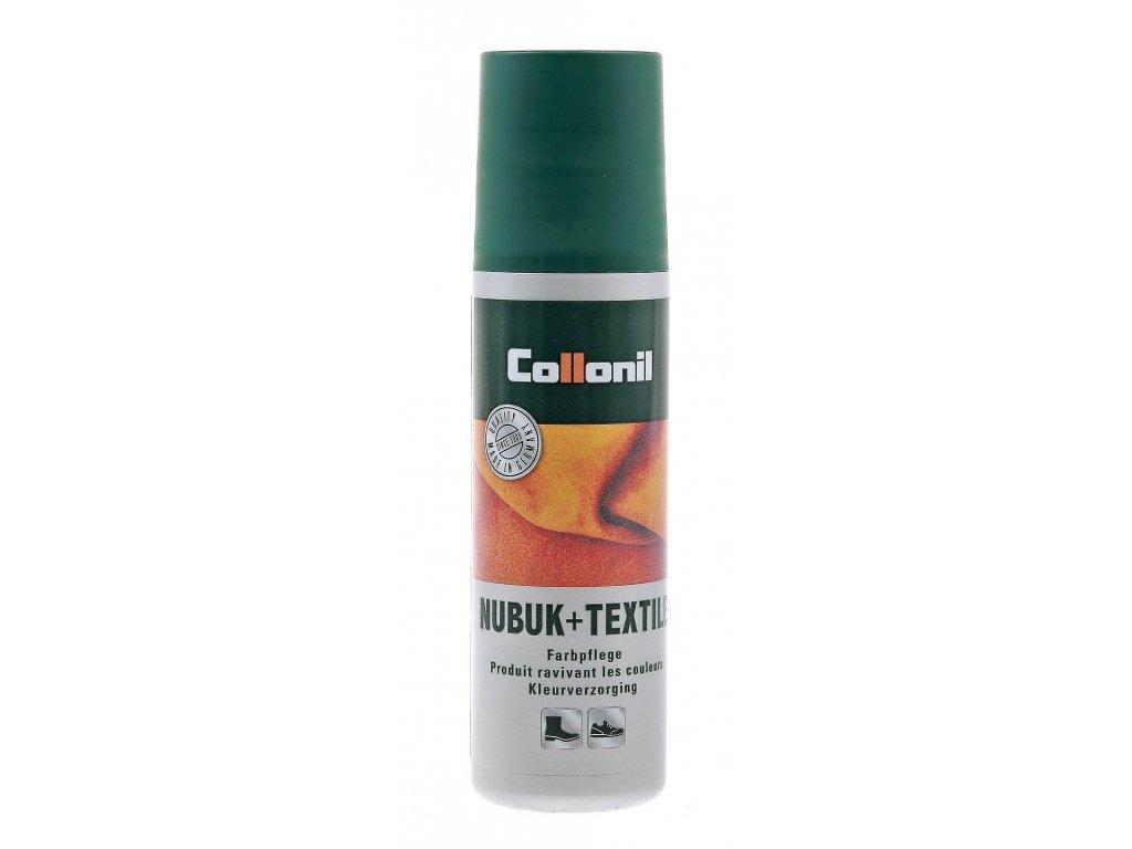Collonil Nubuk+Textil emulze pro obnovu barvy kůže a textilu béžová 100 ml