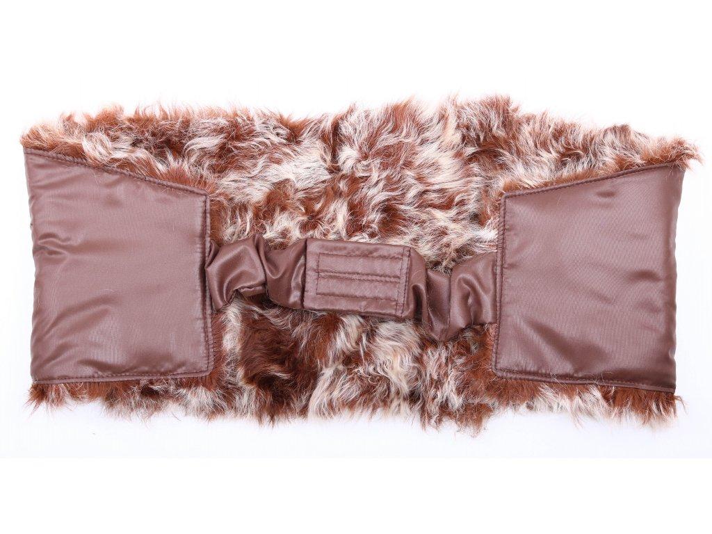 Ledvinový pás kožešinový z ovčiny velikost  120 - 140 cm LP156
