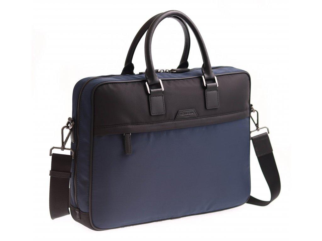 "Pánská taška na notebook Hexagona 635964 tmavě modrá nylonová 15"""