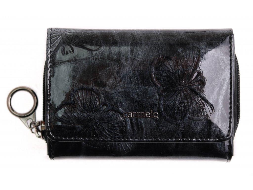 Dámská kožená peněženka Carmelo 2105 M černá