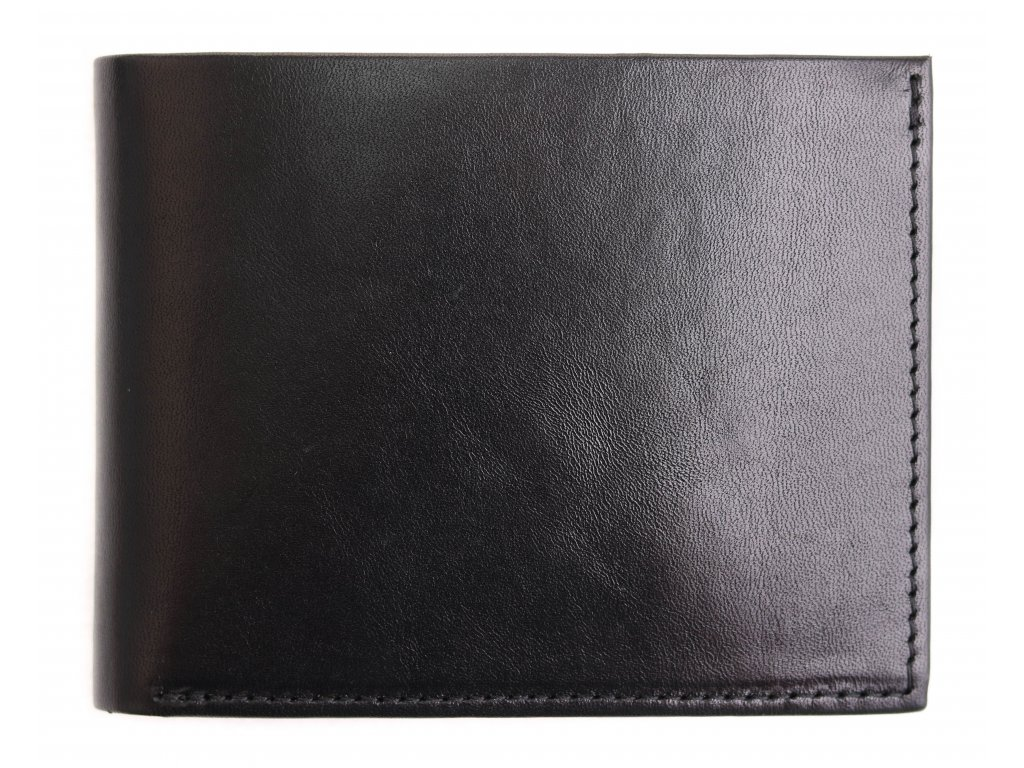 Pánská kožená peněženka Hajn 587451.3 černá
