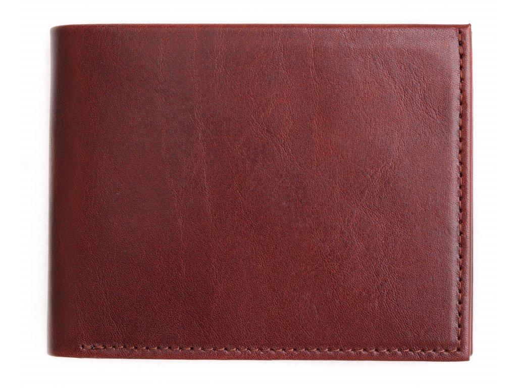 Pánská kožená peněženka Hajn 587411.5 hnědá