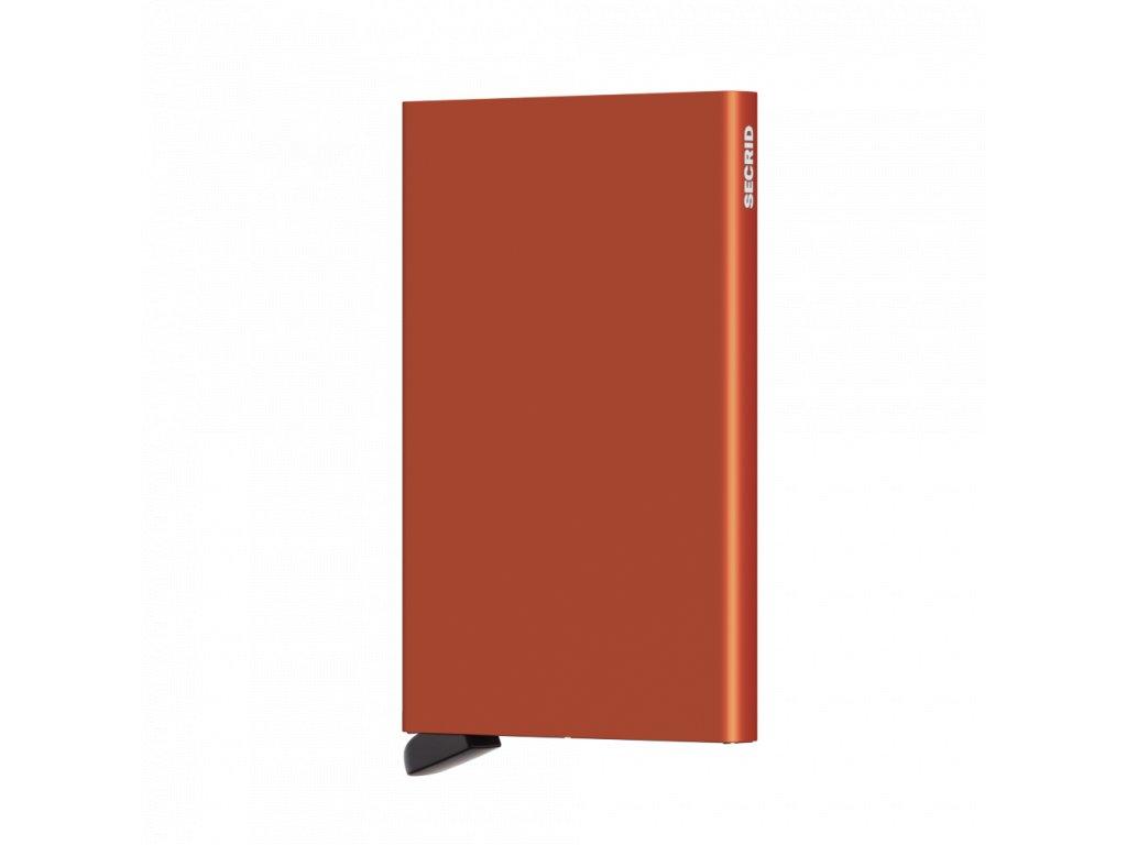 Secrid Cardprotector Orange Front