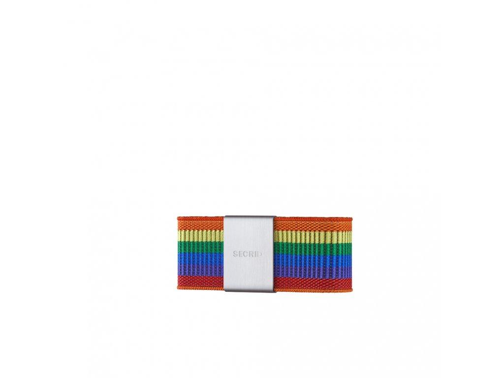 Pásek na peníze SECRID Moneyband Rainbow duhový