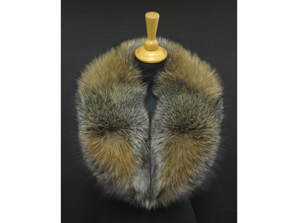 Kožešinový límec ze stříbrné lišky LS229