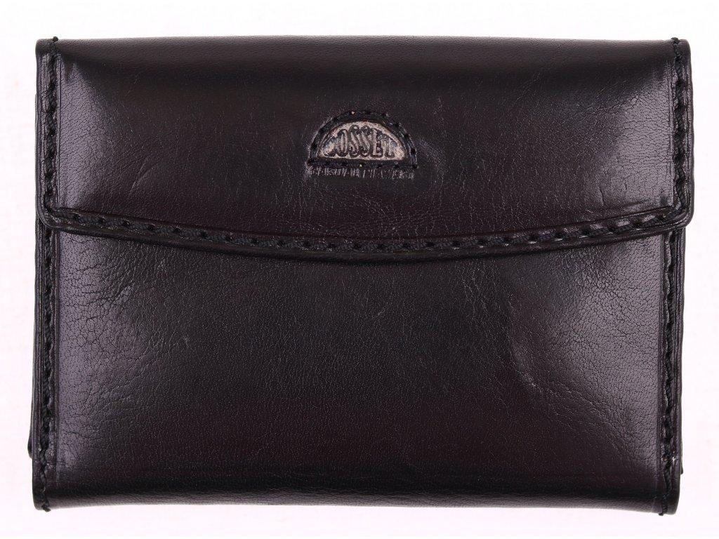Dámská kožená peněženka Cosset 4417 Classic černá