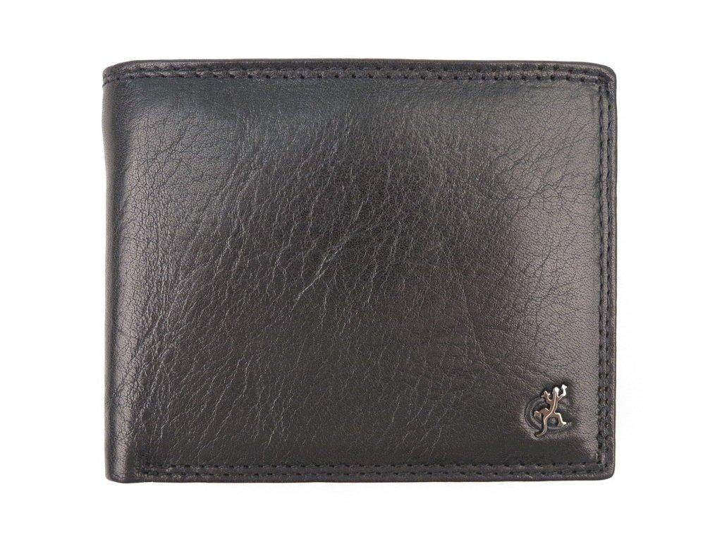 Pánská kožená peněženka Cosset 4465 Komodo černá