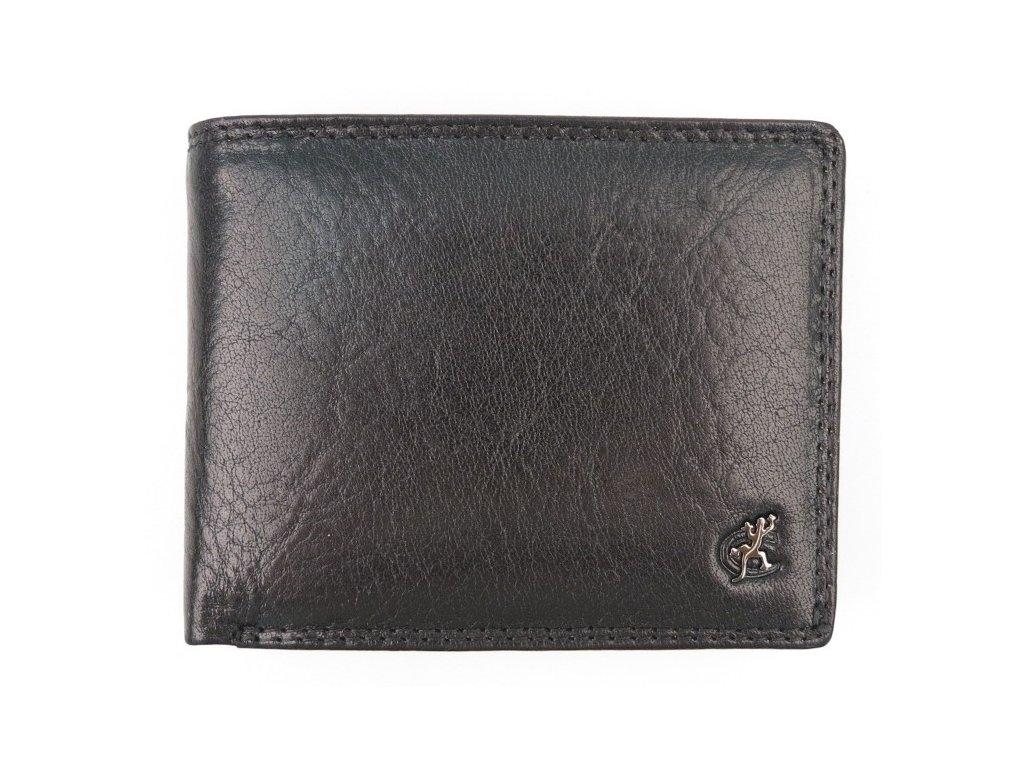 Pánská kožená peněženka Cosset 4488 Komodo černá