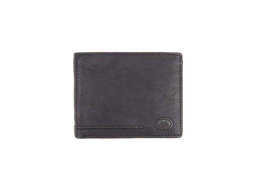 Pánská kožená peněženka Metropoli 5202 Cow černá