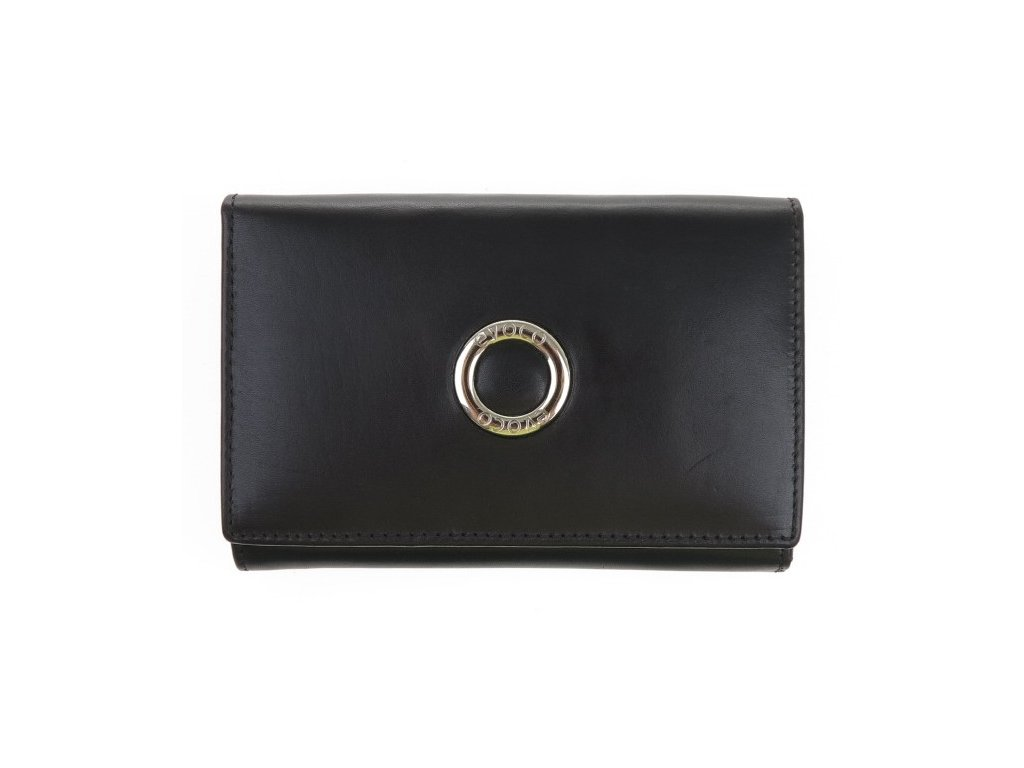 Dámská kožená peněženka Segali 720116977 černá