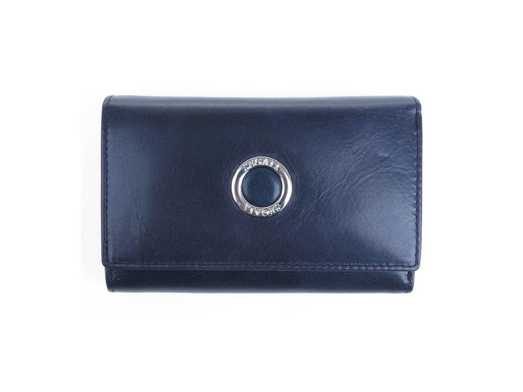 Dámská kožená peněženka Segali 720116704 tmavě modrá