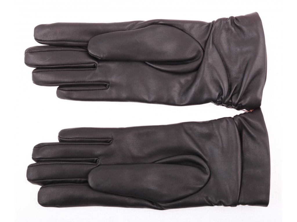 Dámské kožené rukavice 4251 černé - Špongr.cz 7e44c23f4e