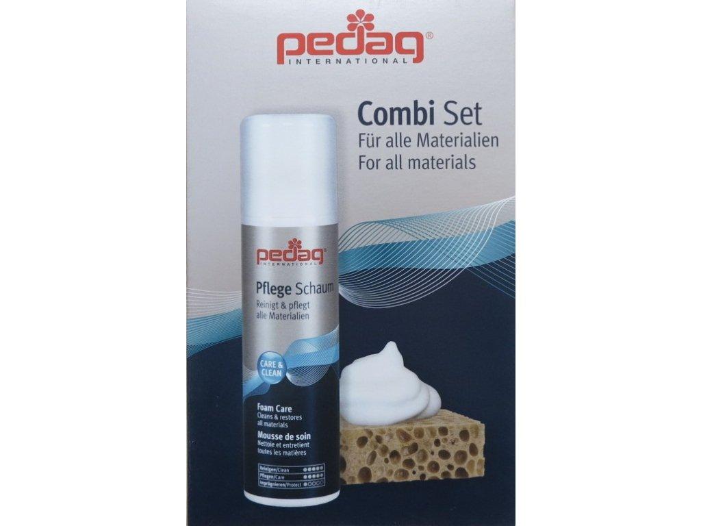 Pedag combi set - univerzální a účinná čistící pěna na kůži
